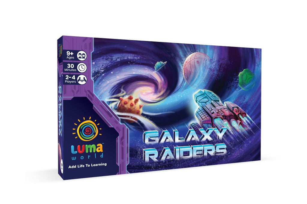 galaxy raiders -A best best board game for kids from luma world