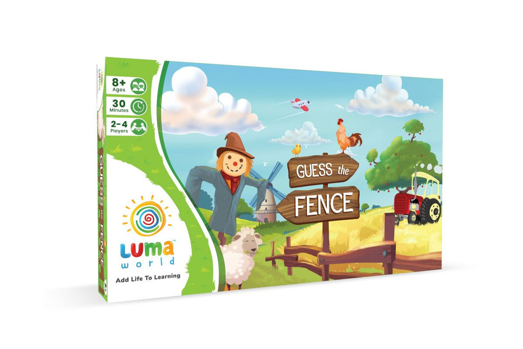 Guess The Fence-Brain Game For Kids from Luma World