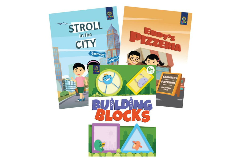 Ace The Shapes (3 Book Bundle)