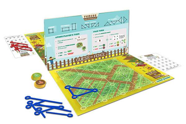 Guess The Fence- Open box-Activity box from luma world