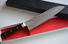 Load image into Gallery viewer, CH006 Japanese Santoku knife Zenpou - Gingami#3 steel 180mm