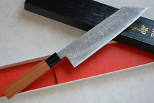 Load image into Gallery viewer, CK104 Japanese Kiritsuke knife Tosa-Kajiya - Aogami#2 Damascus steel 210mm