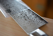 Load image into Gallery viewer, CY201 Japanese Santoku knife Zenpou - VG10 Damascus steel 170mm