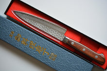 Load image into Gallery viewer, CY204 Japanese Petty knife Zenpou - VG10 Damascus steel 140mm