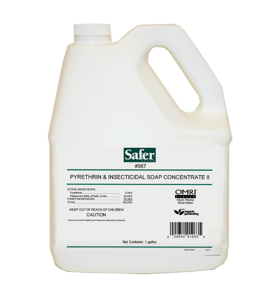 Safer Insecticidal Soap & Pyrethrin 1 gal