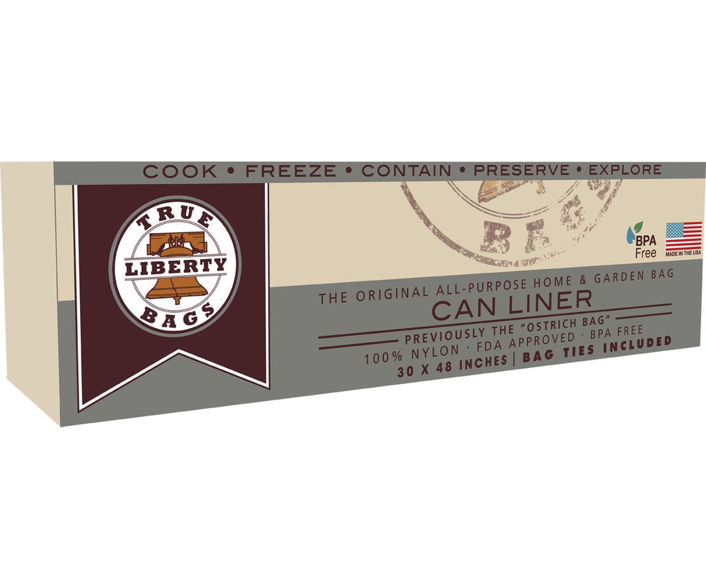 "20 Gallon Can Liners 30"" x 48"" - 25 Pack, Formerly: Ostrich"