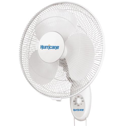Hurricane® Supreme Oscillating Wall Mount Fan 16 in
