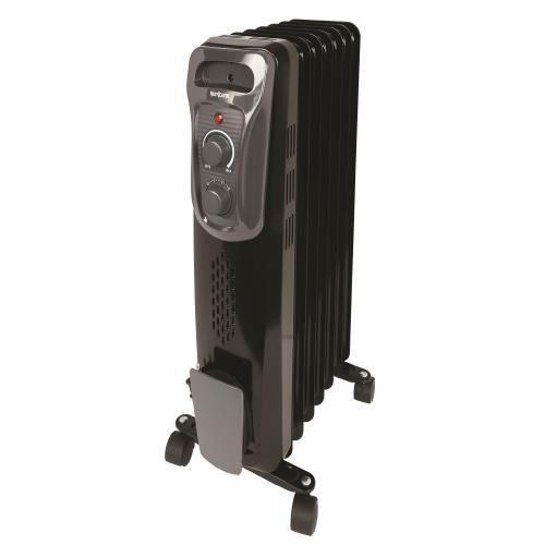 Hurricane Heatwave Oil-Filled Whole Room Radiant Heater - 1500W