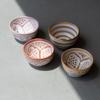 Load image into Gallery viewer, Mini Bowls Zwak Rose Gold Set of 2