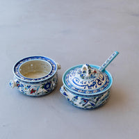 Load image into Gallery viewer, Hand Painted Ichani Breakfast Bowls Small
