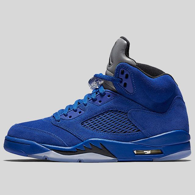 more photos e4715 7881f Nike Air Jordan 5 Retro Game Royal Black
