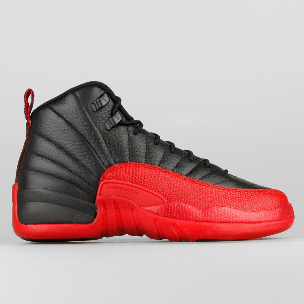 quality design 243b2 1e3d2 Nike Air Jordan 12 Retro BG (GS) Flu Game