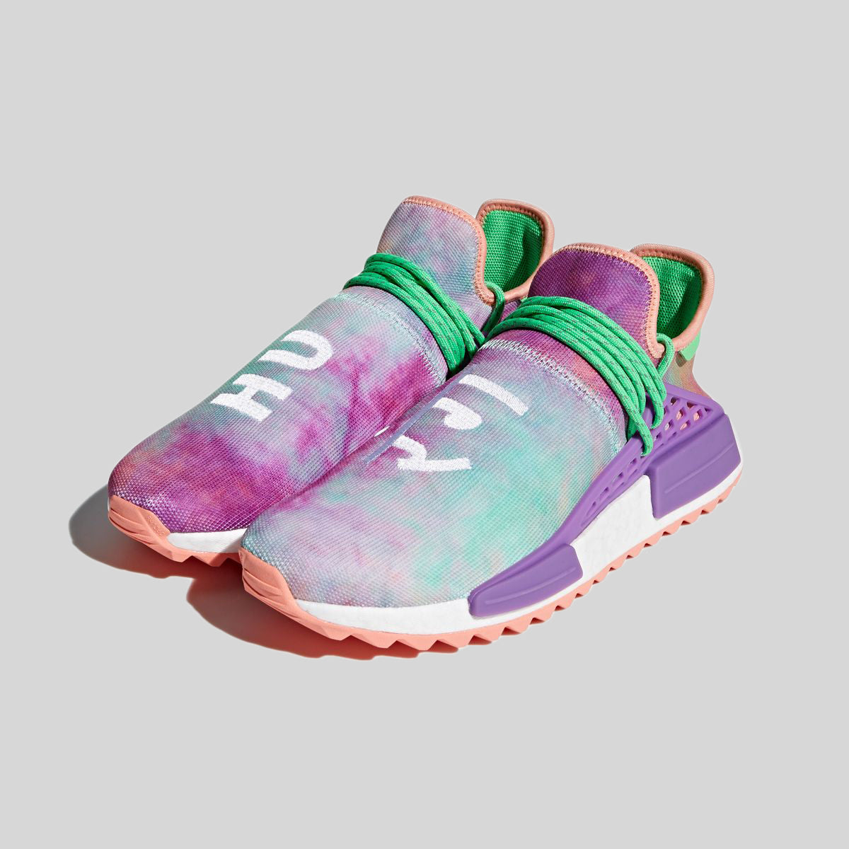 release date 31432 41d78 adidas Originals Human Race NMD Pharrell Holi Festival (Chalk Coral)