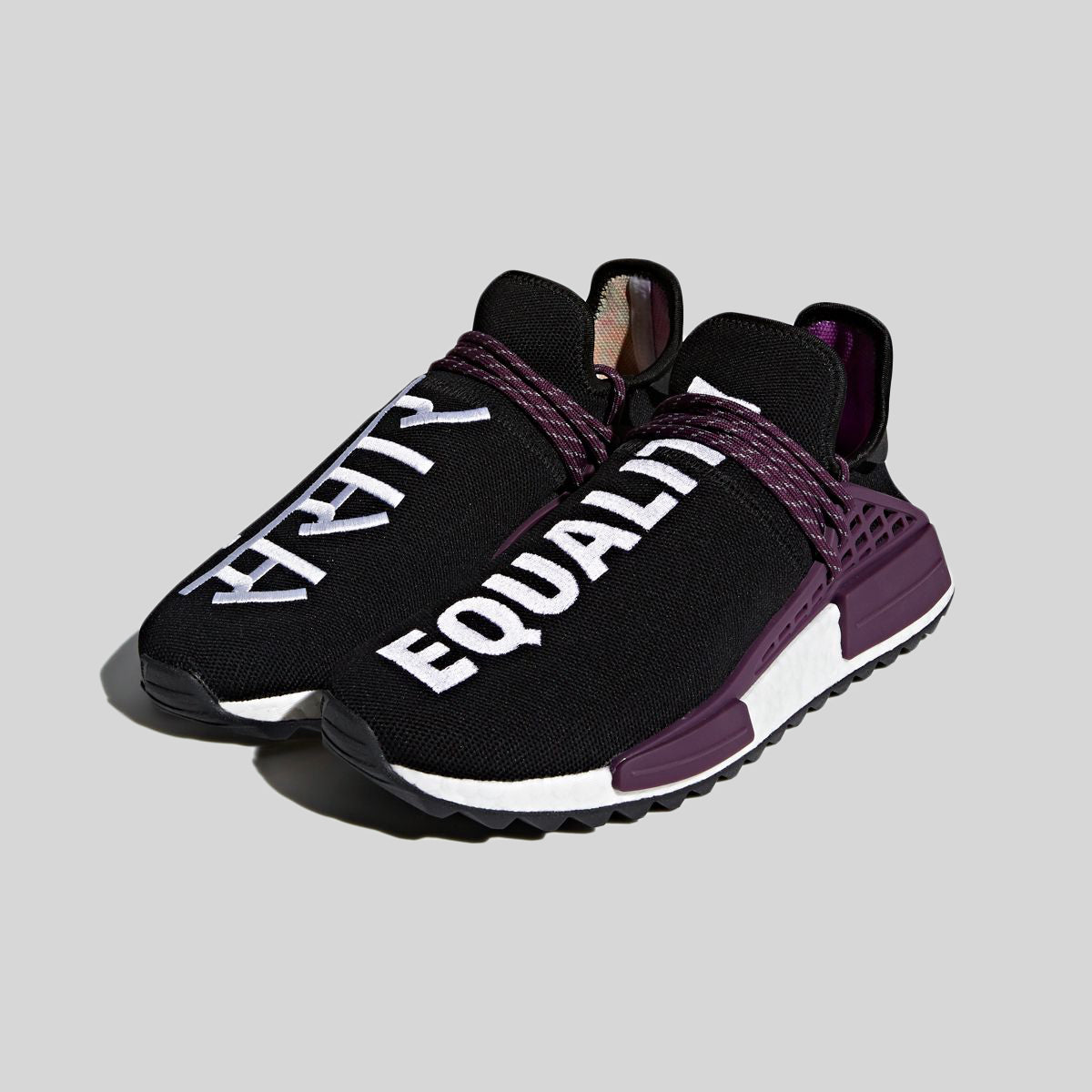 new product sneakers reputable site adidas Originals Human Race NMD Pharrell Holi Festival (Core Black)