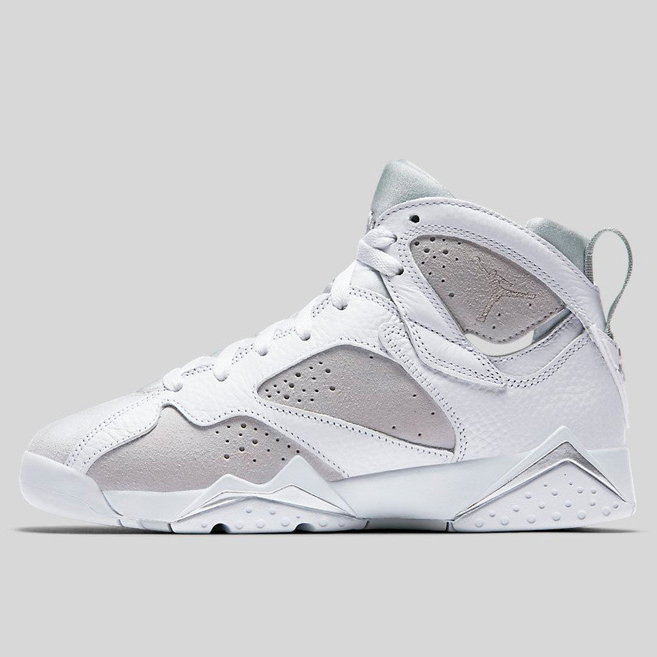 2125210dd28e Nike Air Jordan 7 Retro OG White Metallic Silver Pure Platinum (304774-120)