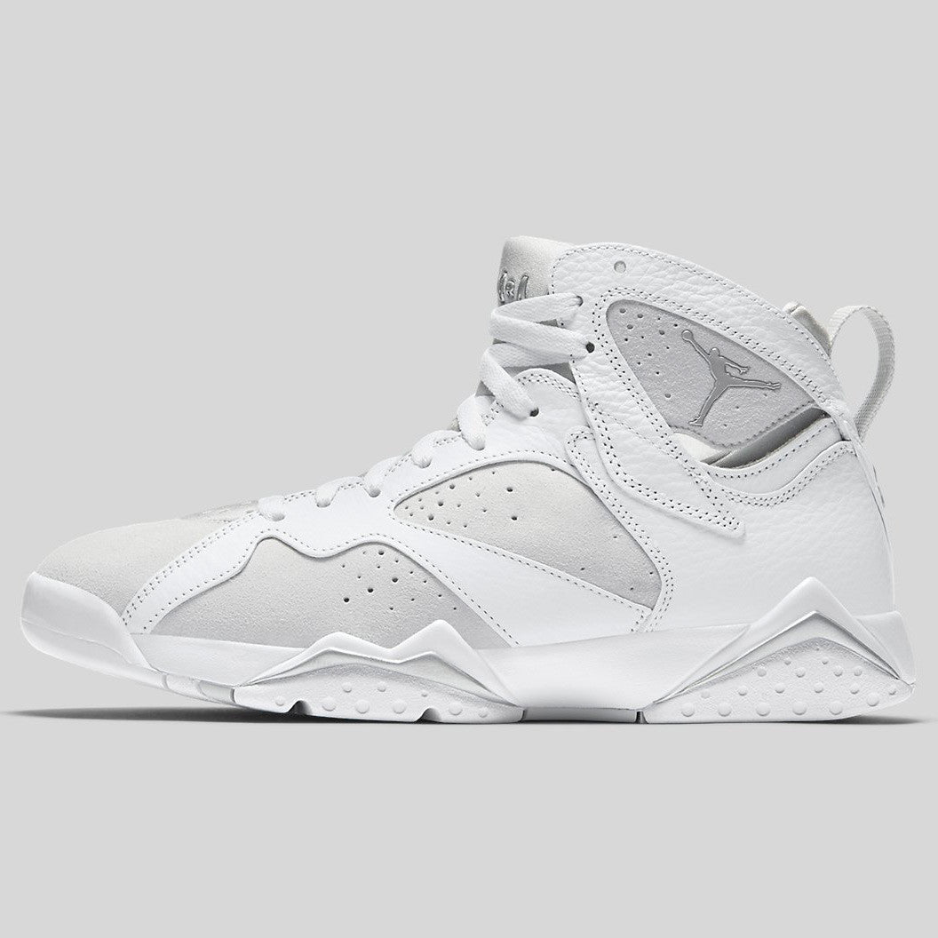 5bf70aa9f5b9 Nike Air Jordan 7 Retro White Metallic Silver Pure Platinum (304775-120)