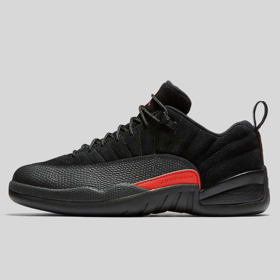 sale retailer f7531 ec710 Nike Air Jordan 12 Retro Low Black Max Orange Anthracite (308317-003) ...