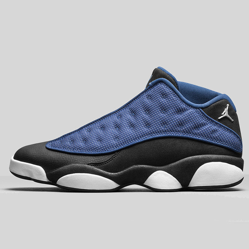 Online New Air Jordan 13 Low Brave Blue 310810407