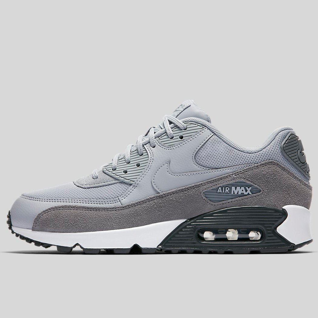 huge selection of c1023 6dd5f Nike Wmns AIR MAX 90 Cool Grey Wolf Grey-Anthracite-White