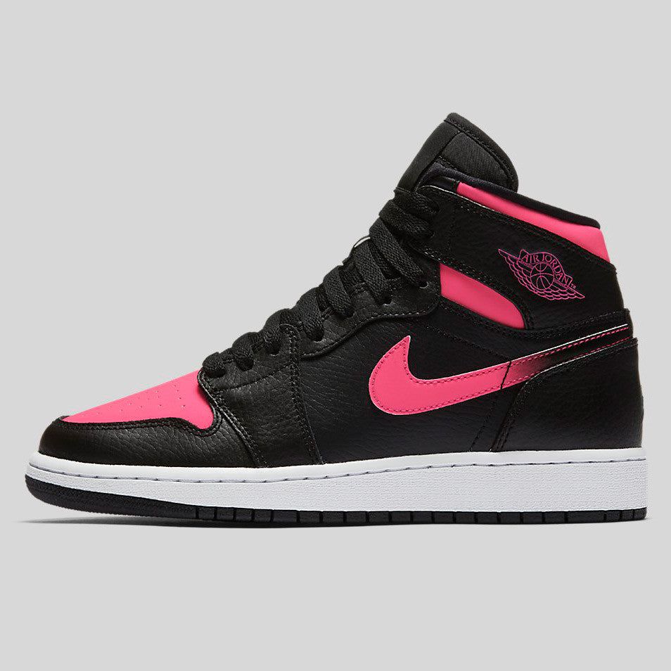 on sale b2323 4e3db Nike Air Jordan 1 Retro High GG (GS) Black Hyper Pink White