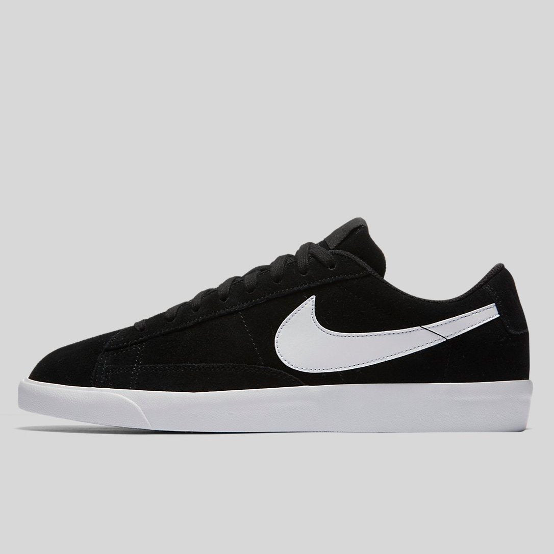 12c21f8efe7 Nike BLAZER LOW Black Black White (371760-026)