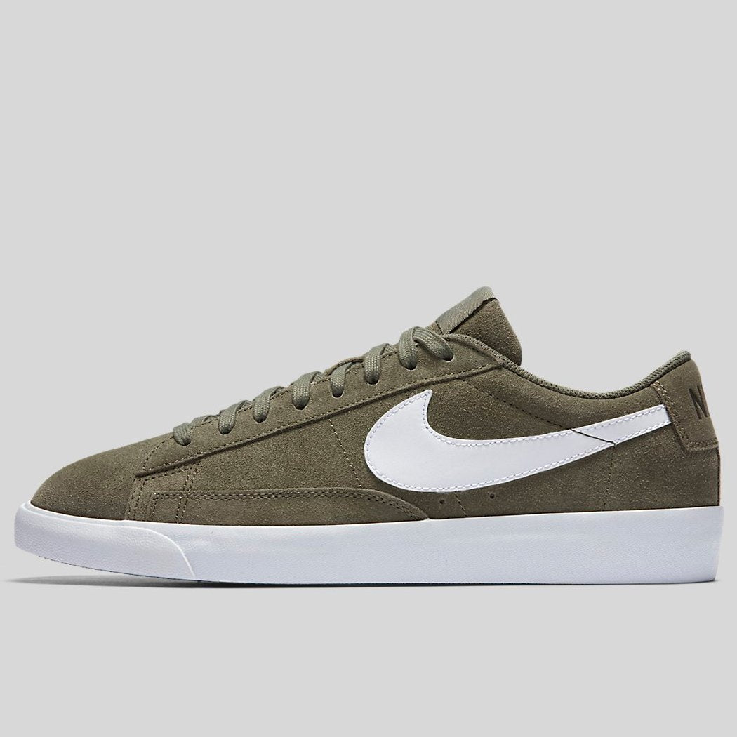 uk availability 52faf 7a0d8 Nike BLAZER LOW Medium Olive Medium Olive White (371760-209)