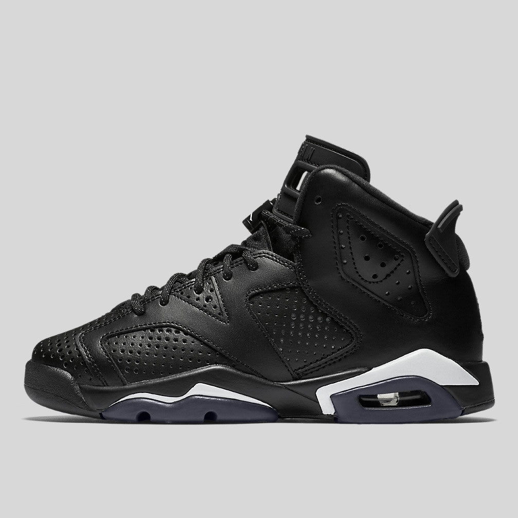 Nike Air Jordan 6 Retro BG (GS) Black Cat