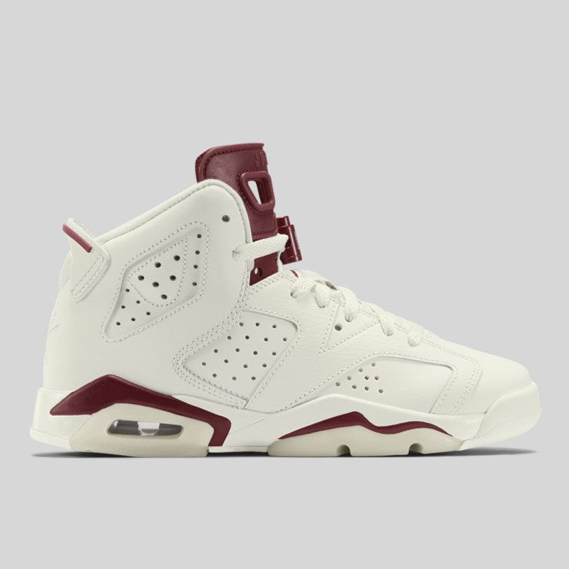 buy online be149 23881 Nike Air Jordan 6 Retro BG (GS) OG Maroon (384665-116)   KIX-FILES