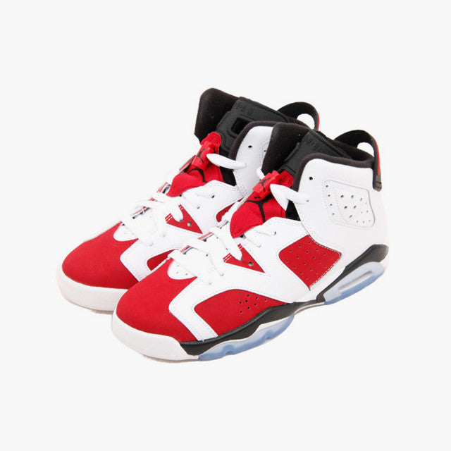 Air Jordan 6 Retro BG (GS) 'Carmine' - 384665-160 - Size 6 -