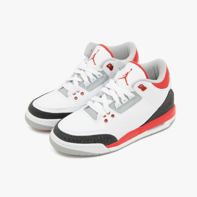 5eda3ae6719000 ... Nike Air Jordan 3 Retro (GS) Fire Red (398614-120) ...