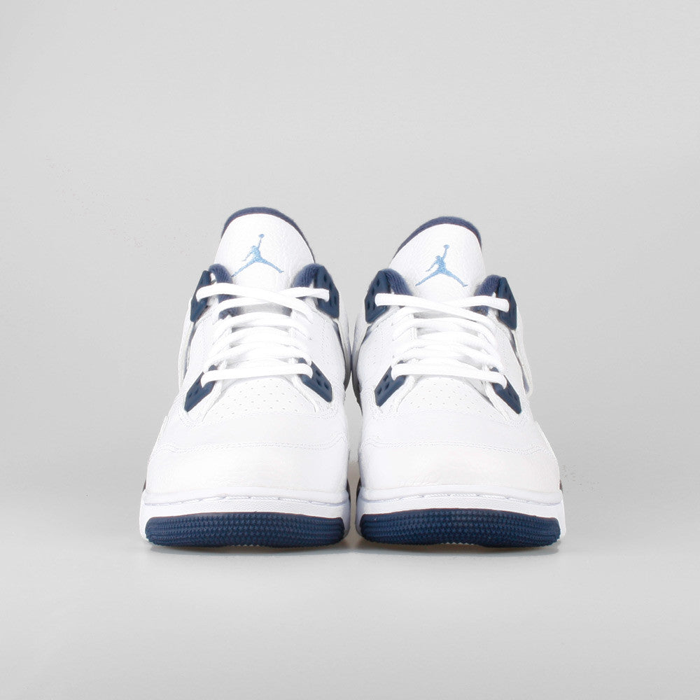 499c3c2e56c228 Nike Air Jordan 4 Retro LS BG (GS) Columbia Legend Blue. Item Number  408452 -107