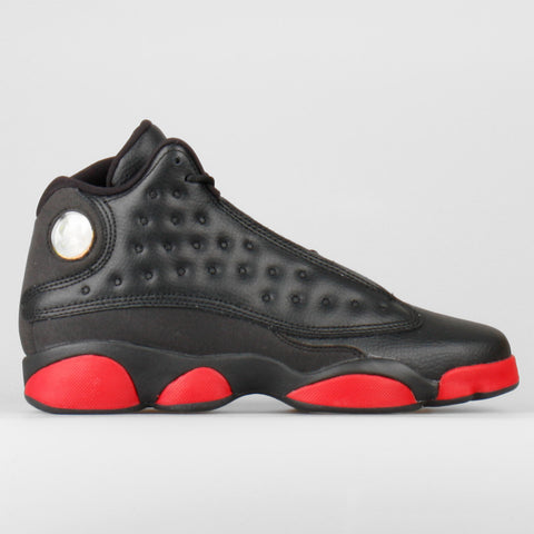 new concept a4fb1 39f48 Nike Air Jordan 13 Retro BG (GS) Black Gym Red (414574-033