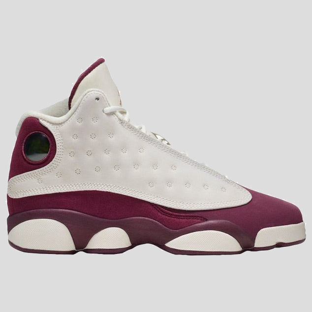 autumn shoes great quality new appearance Nike Air Jordan 13 Retro GG Sail/Bordeaux