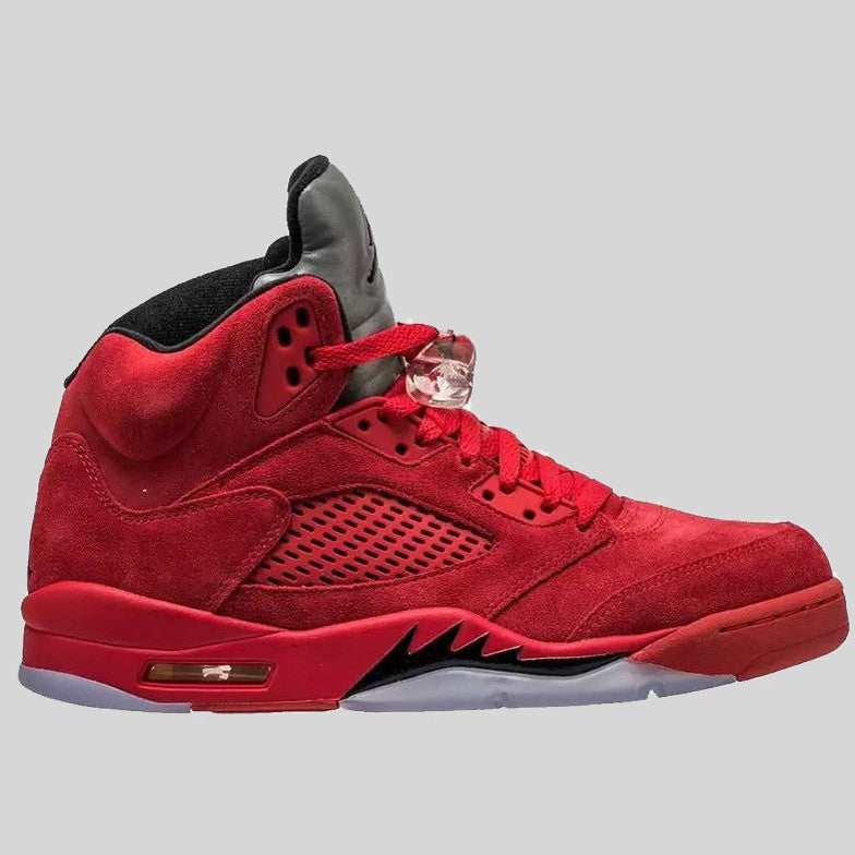 the latest e7a69 c612f Nike Air Jordan 5 Retro BG (GS) University Red Black (440888-602