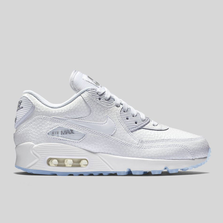 Nike Wmns Air Max 90 PREM Ice Pack (443817-101) | KIX-FILES