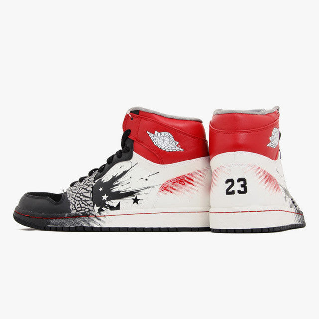 hot sale online 79961 30658 ... Dave White x Nike Air Jordan 1 High DW Wings For The Future (464803- ...