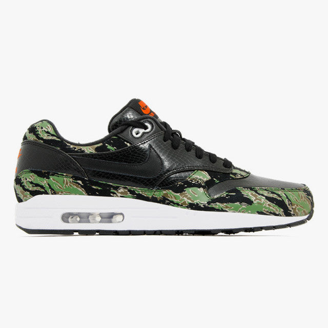 more photos 06ddc 5bce3 atmos x Nike Air Max 1 PRM Tiger Camo Forest Snake (512033-003) ...