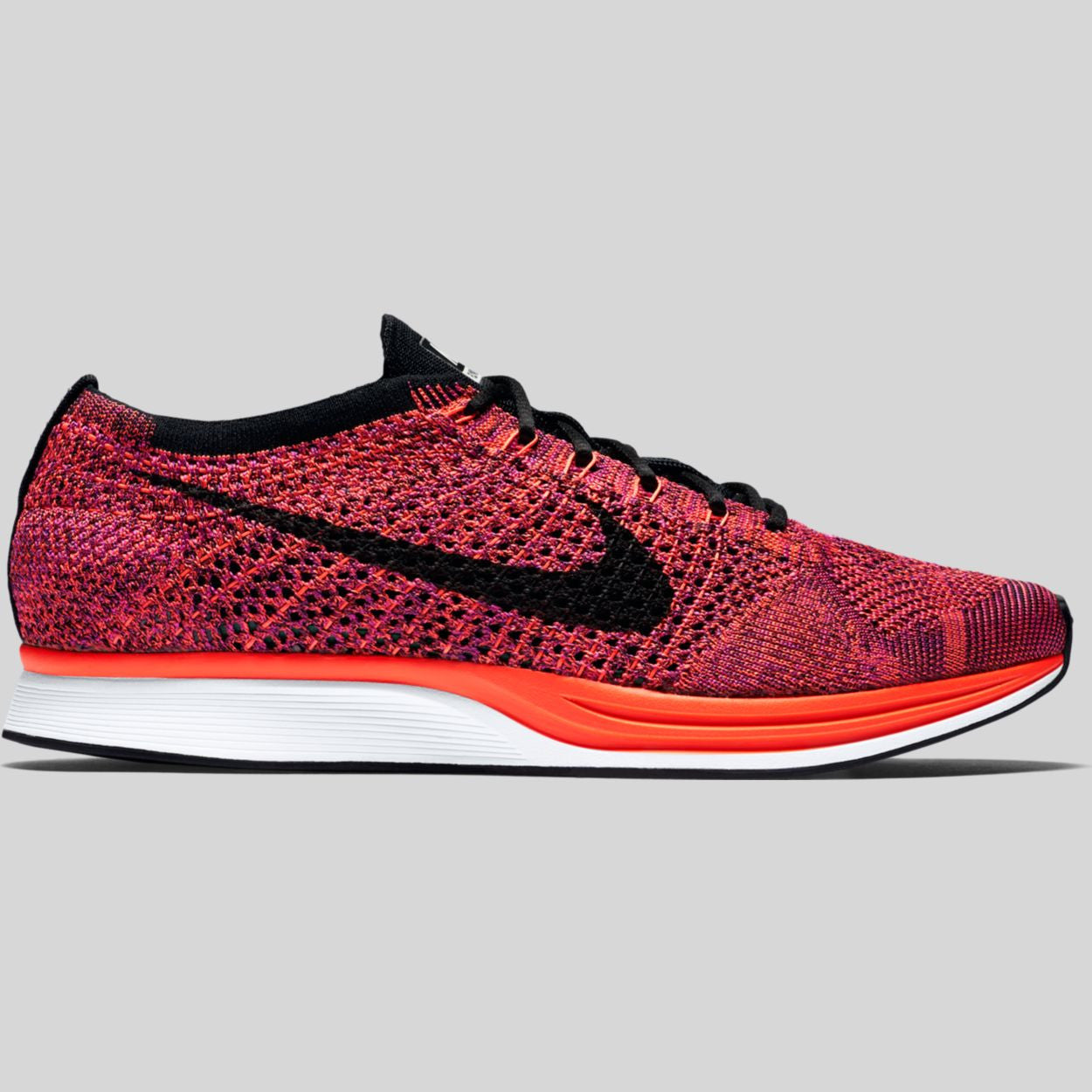 sale retailer 59216 9d943 ... nike flyknit racer grey purple - adidas neo lazy black purple . ...