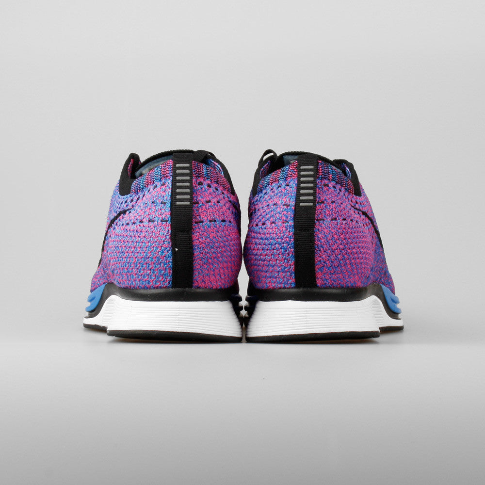 huge discount 0fb83 4a9ef ... Nike Flyknit Racer Game Royal Pink Flash (526628-400) ...