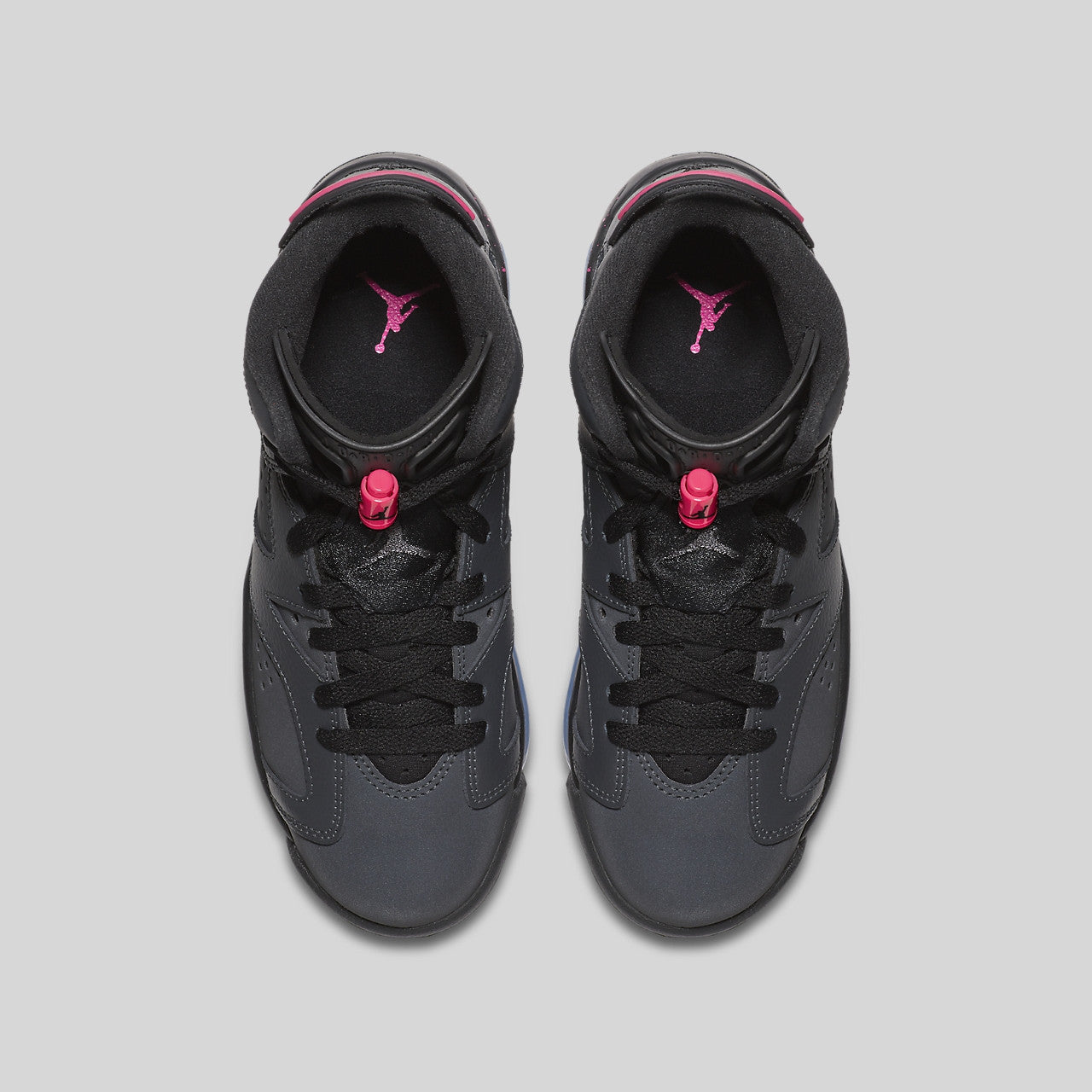 pretty nice ba0ff 14e41 Nike Air Jordan 6 Retro GG (GS) Anthracite Black Hyper Pink