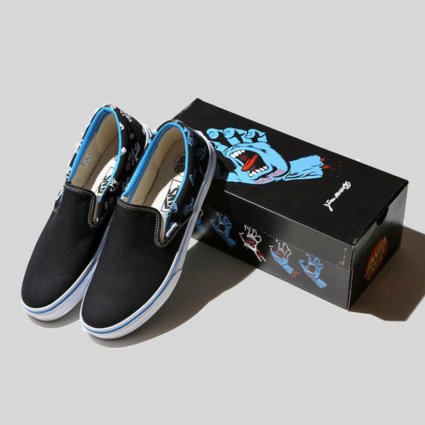 Santa Cruz x BEAMS x Vans Slip On Screaming Hand (Back Order)