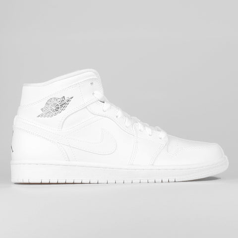 buy popular dd5a2 991e0 Nike Air Jordan 1 Mid White Cool Grey
