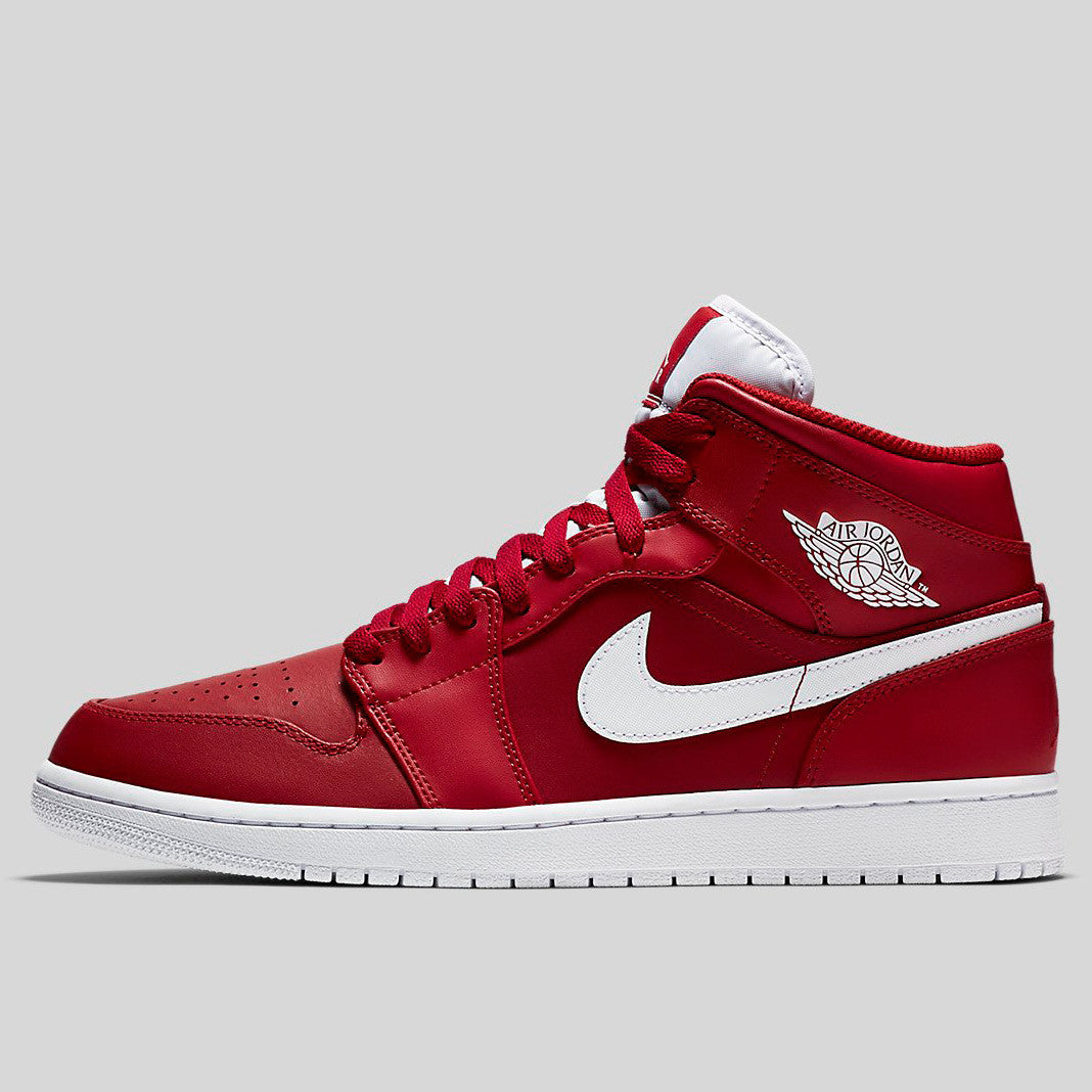 Nike Air Jordan 1 Mid Gym Red White (554724-600)  85a9f062ebde