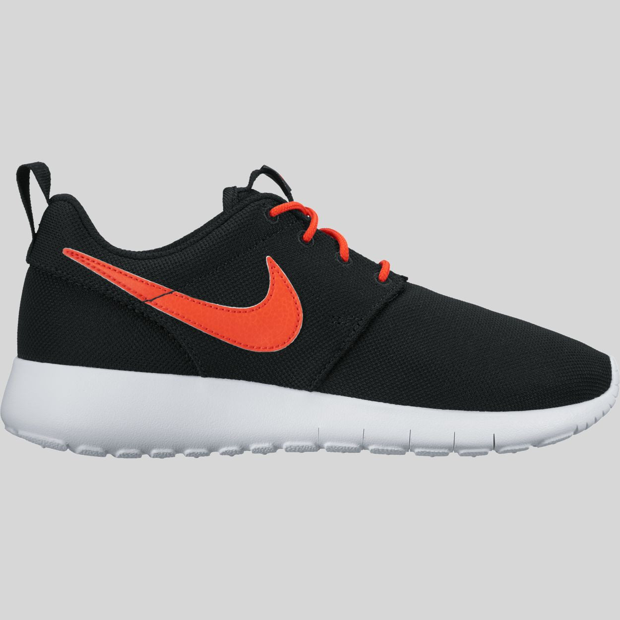d6019380ef2c ... Nike Roshe One (GS) Black Max Orange White (599728-036) ...