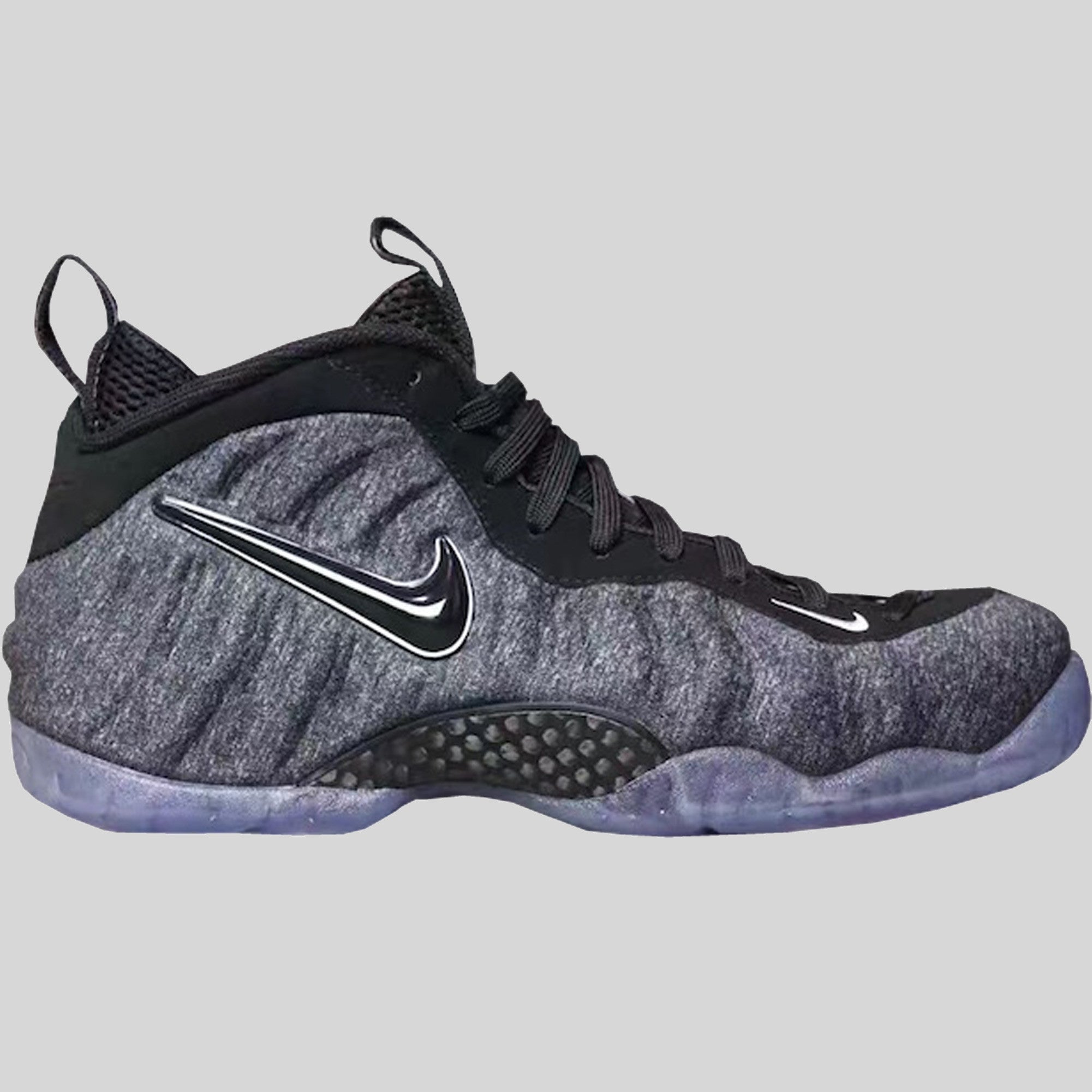 783c100a797b Nike Air Foamposite Pro Dark Grey Heather Black (624041-007)