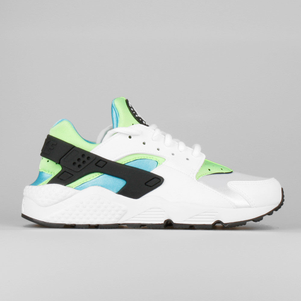 factory price authorized site preview of Nike Wmns Air Huarache Run White Clearwater Flash Lime