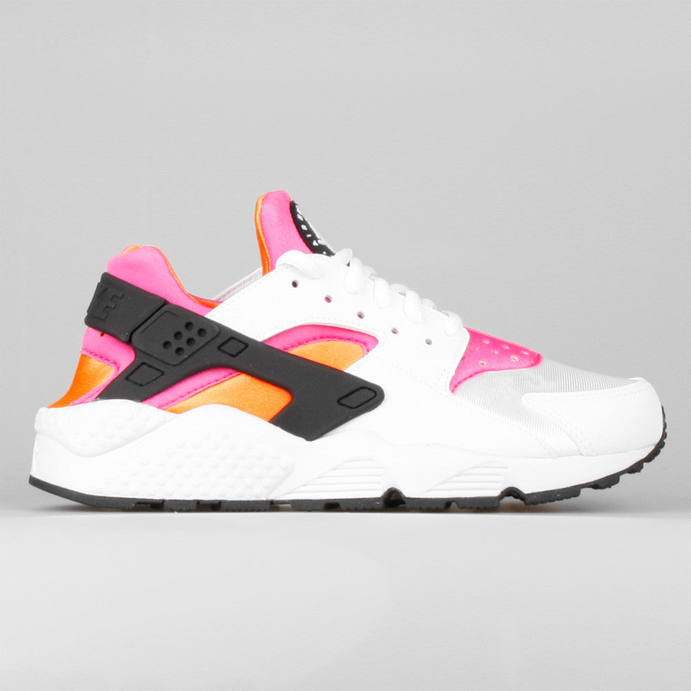 7b0c34aa5446 cheapest nike huarache run td black total orange bold berry pink pow 86429  e870a  ireland nike wmns air huarache run white total orange pink pow a96de  752fb
