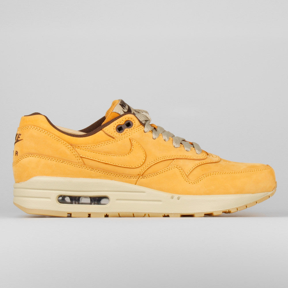 96a0369020 Nike Air Max 1 LTR Premium Flax Pack. Item Number: 705282-700. Color: BRONZE /BRONZE-BAROQUE BROWN