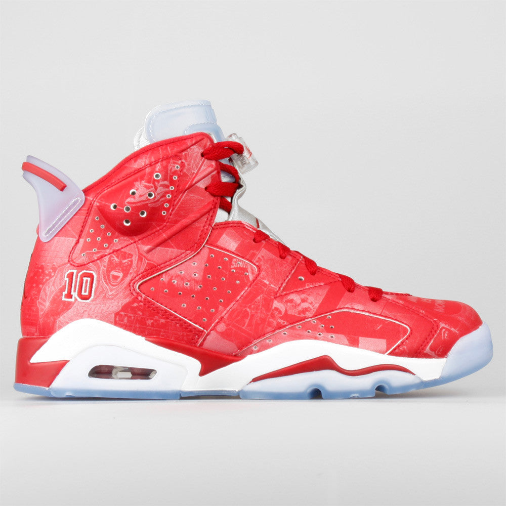 quality design 30929 236b0 Slam Dunk x Nike Air Jordan 6 Retro Shohoku 10 (717302-600) ...