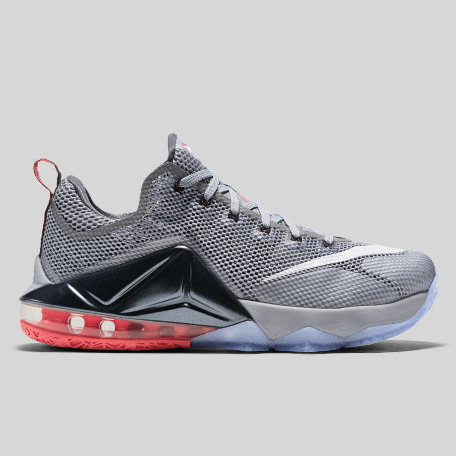 online store 42601 2d095 ... Nike LeBron XII Low EP Wolf Grey Hot Lava (724558-014) ...